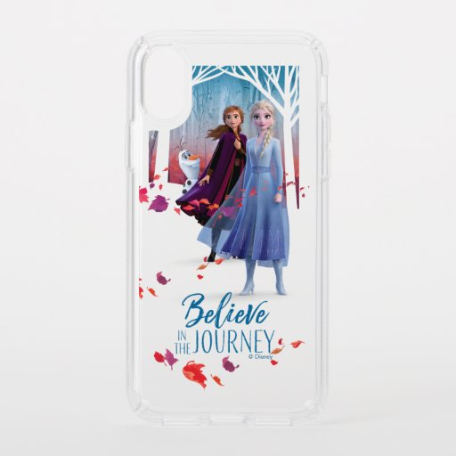 Frozen 2: Elsa, Anna, & Olaf | Believe Speck iPhone XS Case
