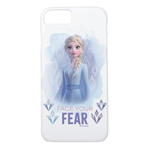 Frozen 2: Elsa | Face Your Fear iPhone 8/7 Case