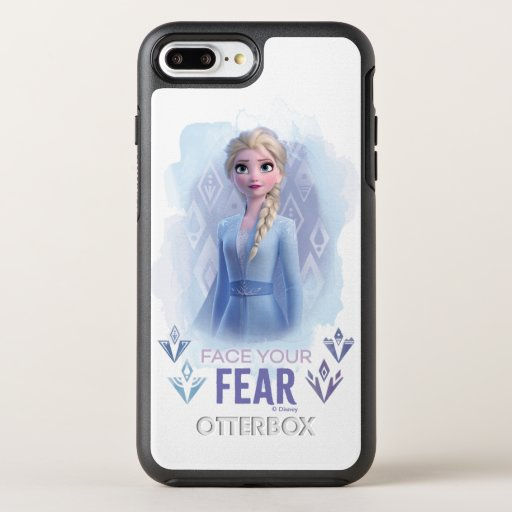 Frozen 2: Elsa | Face Your Fear OtterBox Symmetry iPhone 8 Plus/7 Plus Case