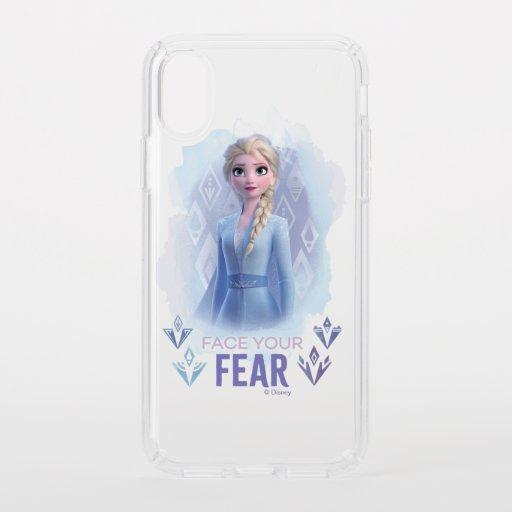Frozen 2: Elsa | Face Your Fear Speck iPhone XS Case