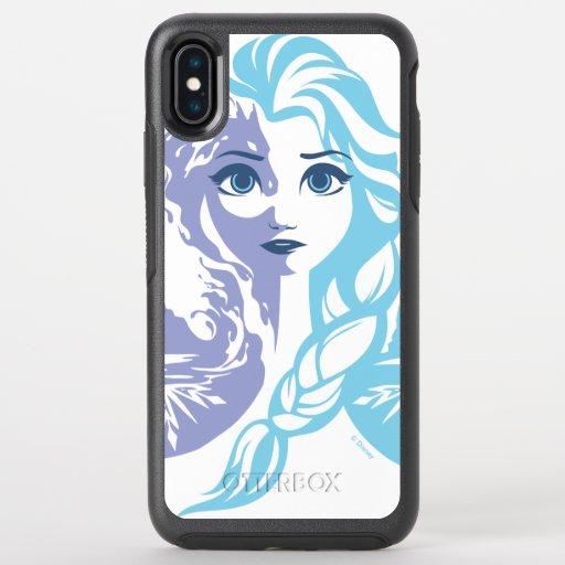 Frozen 2 | Elsa - Frozen Reign OtterBox Symmetry iPhone XS Max Case