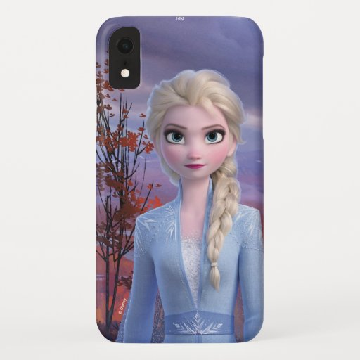 Frozen 2 | Elsa - Lead with Courage iPhone XR Case