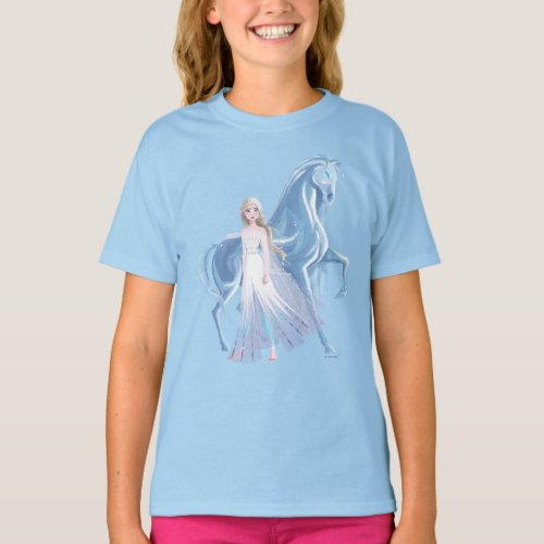 Frozen 2  Elsa  the Frosted Nokk T_Shirt