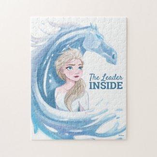Frozen 2: Elsa & The Nokk Portrait Jigsaw Puzzle