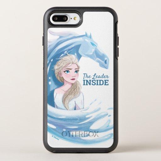 Frozen 2: Elsa & The Nokk Portrait OtterBox Symmetry iPhone 8 Plus/7 Plus Case