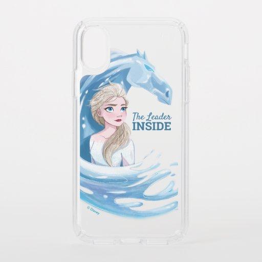 Frozen 2: Elsa & The Nokk Portrait Speck iPhone XS Case
