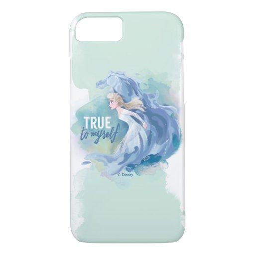 Frozen 2: Elsa & The Nokk | True To Myself iPhone 8/7 Case