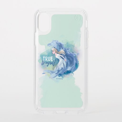 Frozen 2: Elsa & The Nokk | True To Myself Speck iPhone XS Case