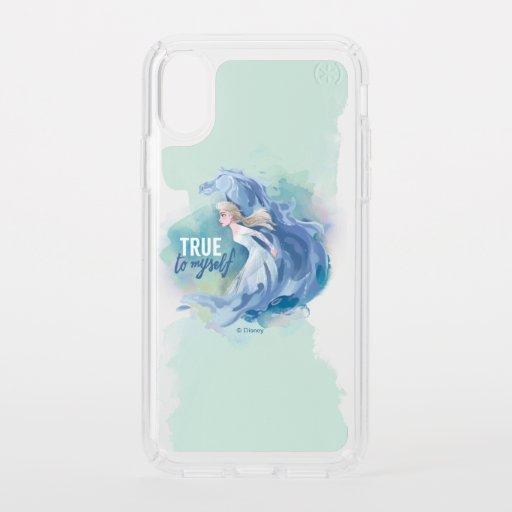 Frozen 2: Elsa & The Nokk | True To Myself Speck iPhone XS Case