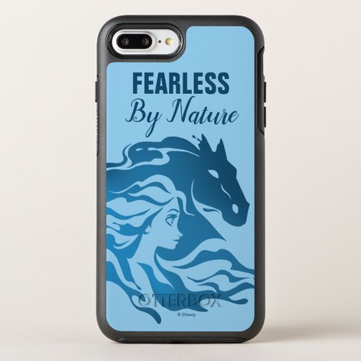 Frozen 2: Elsa & The Nokk Watercolor Silhouette OtterBox Symmetry iPhone 8 Plus/7 Plus Case
