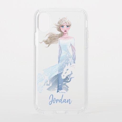 Frozen 2: Elsa Watercolor Illustration Speck iPhone XS Case