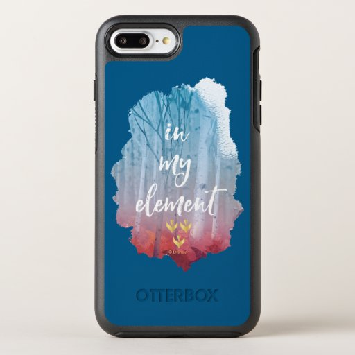 Frozen 2: In My Element OtterBox Symmetry iPhone 8 Plus/7 Plus Case