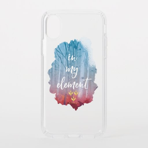 Frozen 2: In My Element Speck iPhone XS Case