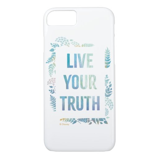 Frozen 2: Live Your Truth iPhone 8/7 Case