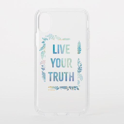 Frozen 2: Live Your Truth Speck iPhone XS Case