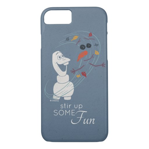 Frozen 2: Olaf And The Wind iPhone 8/7 Case