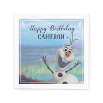 Frozen 2 - Olaf Birthday Party Napkins
