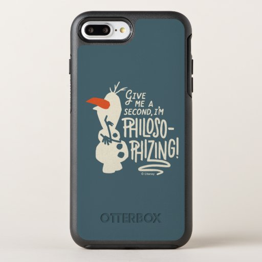 Frozen 2: Olaf | I'm Philosophizing! OtterBox Symmetry iPhone 8 Plus/7 Plus Case