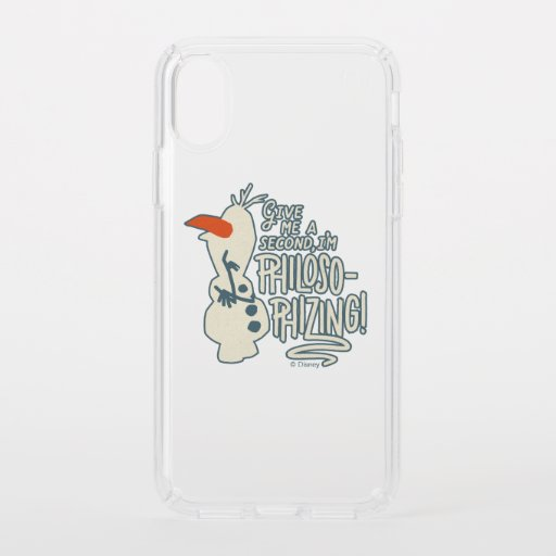 Frozen 2: Olaf | I'm Philosophizing! Speck iPhone XS Case