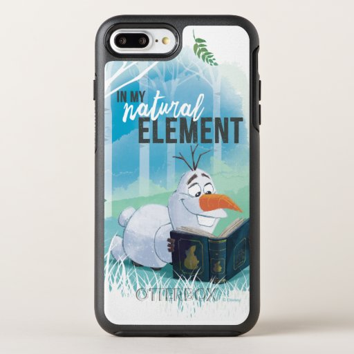 Frozen 2: Olaf | In My Natural Element OtterBox Symmetry iPhone 8 Plus/7 Plus Case