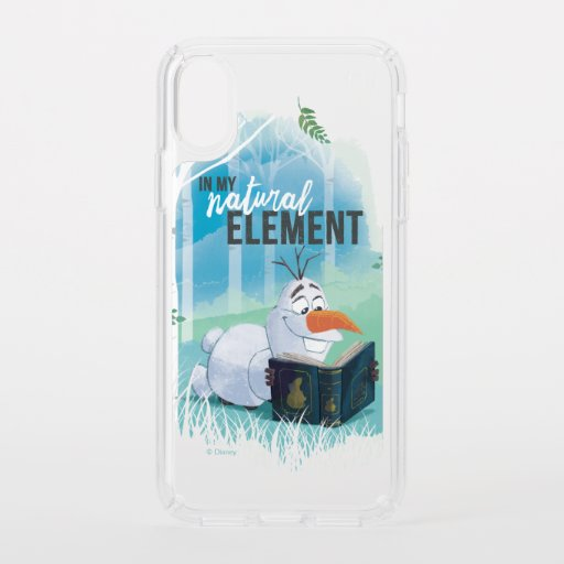 Frozen 2: Olaf | In My Natural Element Speck iPhone XS Case