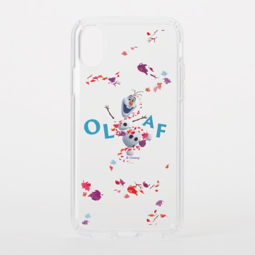 Frozen 2: Olaf In The Breeze Speck iPhone XS Case