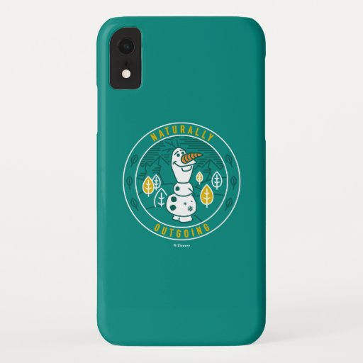 Frozen 2 | Olaf - Naturally Outgoing iPhone XR Case