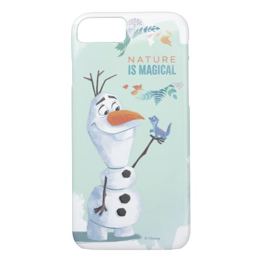 Frozen 2: Olaf | Nature Is Magical iPhone 8/7 Case