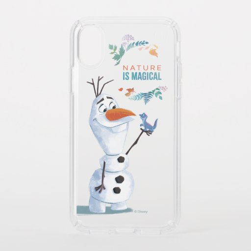 Frozen 2: Olaf | Nature Is Magical Speck iPhone XS Case