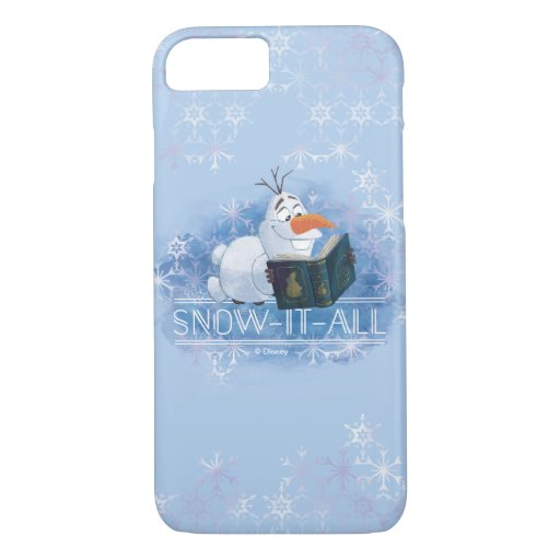 Frozen 2: Olaf | Snow-It-All iPhone 8/7 Case