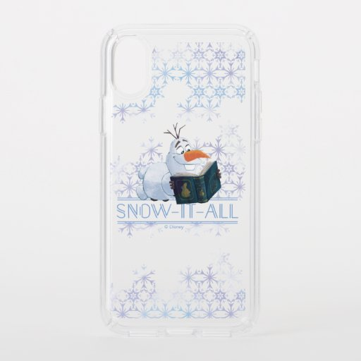 Frozen 2: Olaf | Snow-It-All Speck iPhone XS Case