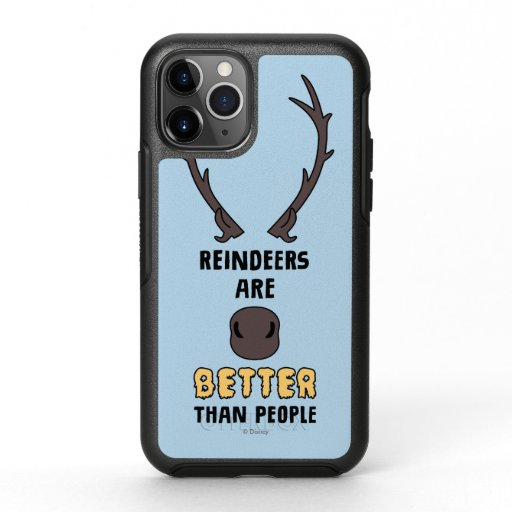 Frozen 2 | Reindeers Are Better Than People OtterBox Symmetry iPhone 11 Pro Case