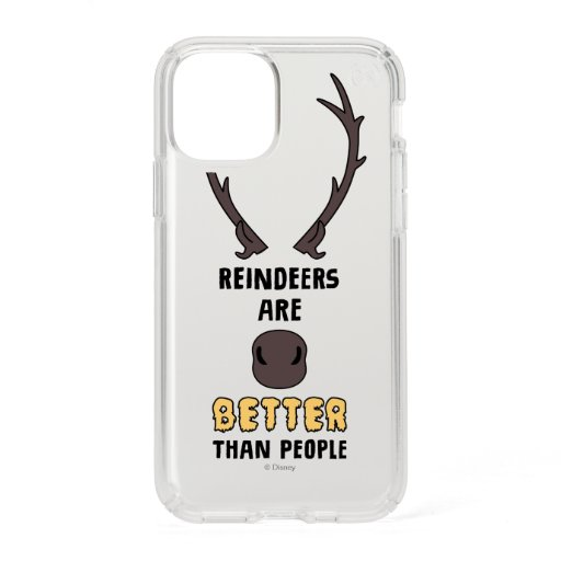 Frozen 2 | Reindeers Are Better Than People Speck iPhone 11 Pro Case