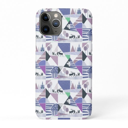 Frozen 2 | Seek the Truth Character Pattern iPhone 11 Pro Case