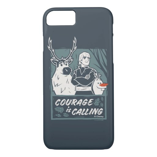 Frozen 2: Sven, Kristoff, & Olaf | Courage iPhone 8/7 Case
