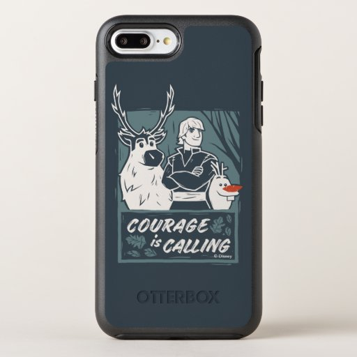 Frozen 2: Sven, Kristoff, & Olaf | Courage OtterBox Symmetry iPhone 8 Plus/7 Plus Case