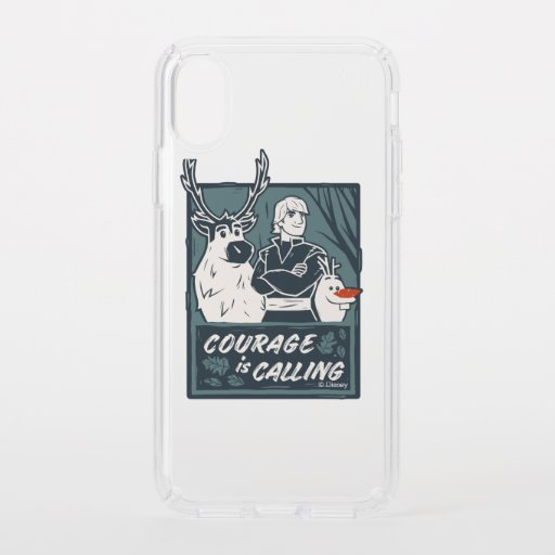 Frozen 2: Sven, Kristoff, & Olaf | Courage Speck iPhone XS Case