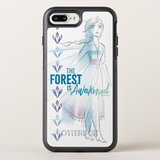 Frozen 2: The Forest Is Awakened OtterBox Symmetry iPhone 8 Plus/7 Plus Case