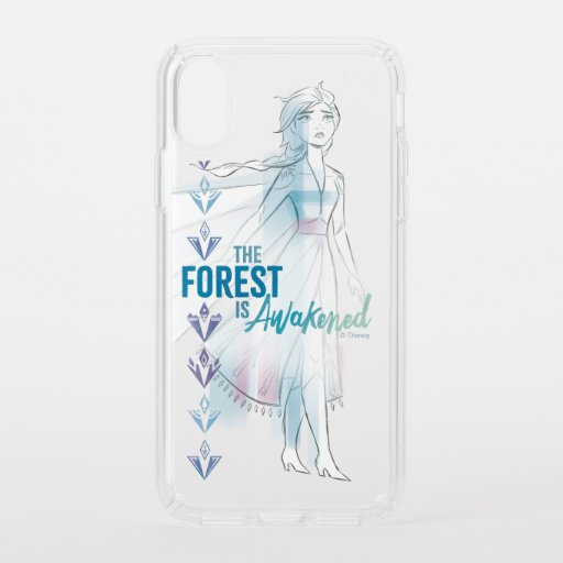 Frozen 2: The Forest Is Awakened Speck iPhone XS Case