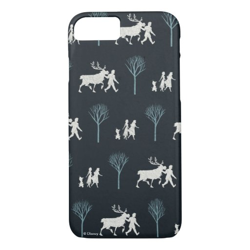 Frozen 2: Walking Through Birch Trees Pattern iPhone 8/7 Case