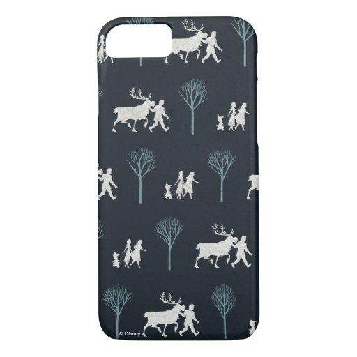 Frozen 2: Walking Through Birch Trees Pattern iPhone 8/7 Case