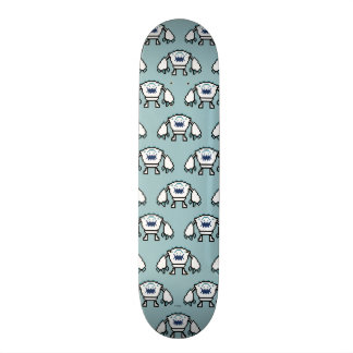 Frozen | 8-Bit Marshmallow Skateboard Deck