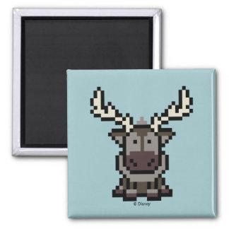 Frozen | 8-Bit Sven 2 Inch Square Magnet
