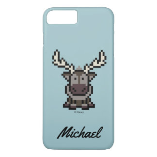 Frozen | 8-Bit Sven | Your Name iPhone 8 Plus/7 Plus Case