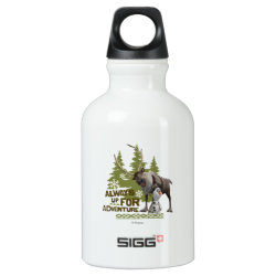 SIGG Traveller Water Bottle (0.6L) with Sven & Olaf - Always Up for Adventure design