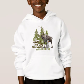 Frozen | Always up for Adventure Hoodie