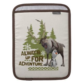Frozen | Always up for Adventure Sleeve For iPads