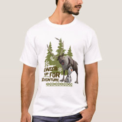 Sven & Olaf - Always Up for Adventure Men's Basic T-Shirt