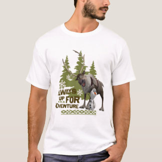 Frozen   Always up for Adventure T-Shirt