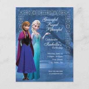 10 x NEW Frozen Children Party Invitations Elsa The Snow Queen